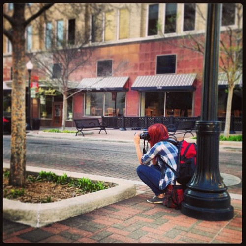 Downtown photo sesh with @mjwatson_  (at Downtown Tulsa)