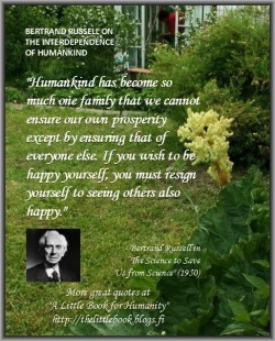 Bertrand Russell [via Bertrand Russell (Facebook)]]