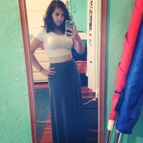 Felt good about how i looked today. I like this outfit <3