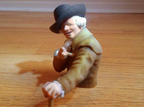 Joseph Ducreux 3D-printed sculpture. Shit just got real.