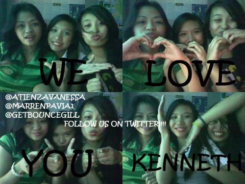 WE LOVE U SO MUCH @KENKENCIO