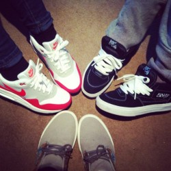 New shoe crew #van #halfcab #chukka #california #nike #am1 #bigeyeslittlesoles #crew #igsneakercommunity