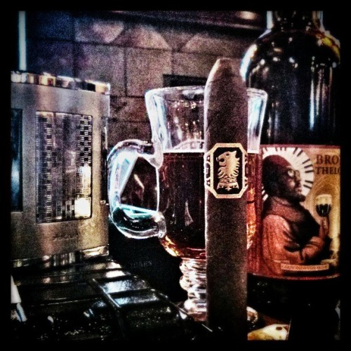 gntstyle:  I think #BrotherThelonious would enjoy an #Undercrown #Cigar #Botl #CraftBeer #Belgian #Abbey #NorthCoastBrewing #CarpeDiemVitaBrevis (at The Humidor) Style? Follow: BLOGFACEBOOK