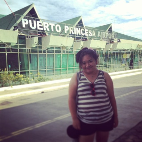 Tourist-y. #throwback #flashbackfriday #fbf (at Puerto Princesa International Airport (PPS))