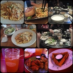 #LatePost: Food Adventures in Dallas. #wewentHAM #Dallas #weekendadventures #DallasTrip #LABurger #kbbq #ytg #yogurtsoju #UrbanEats #Pluckers #wingbar #pluckhairs #food #nomnation #bomb #goodfood #goodcompany #goodvibes #preMeltdownmeal #postMeltdownmeal #munchies #fatties #nowtimetoworkout #okimdone