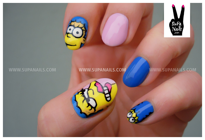 Supa Marge My new nails make me happy.@homersimpson #thesimpsons