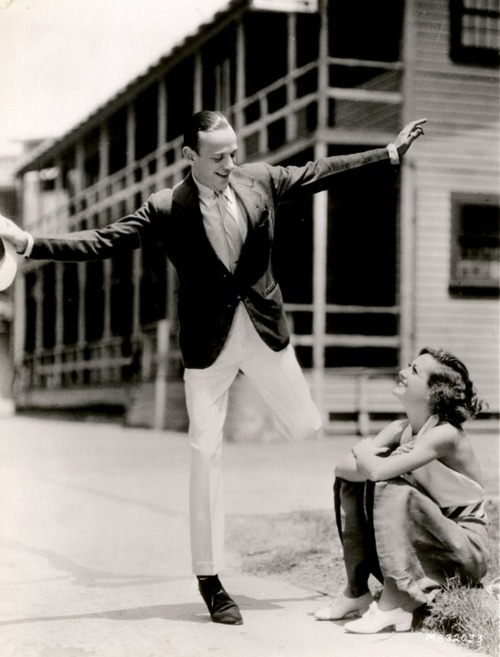 Fred Astaire and Joan Crawford.