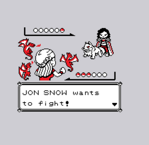 haylleyelite:  JON SNOW wants to fight!