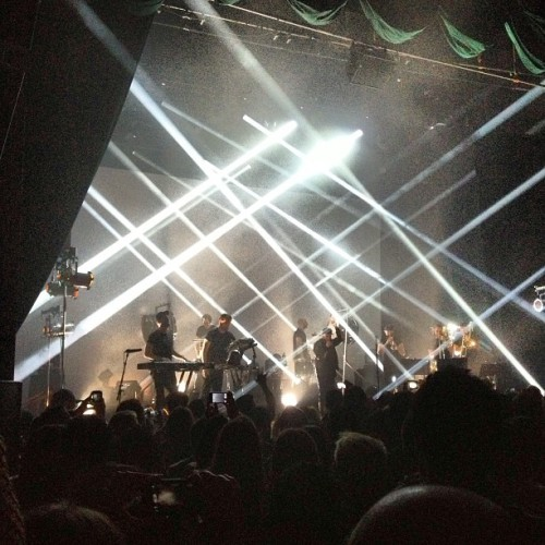 The Incredible Woodkid  CC: @chiarakramer  #music #concerts #visuals  (at The Fonda Theatre)