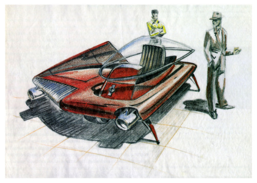 Tomorow's Automobile Today! (by paul.malon) Sydney Mead, 1957.