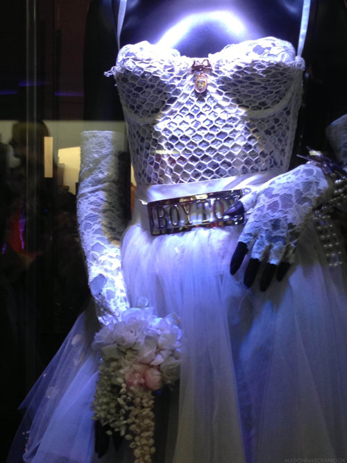 #Madonna - The Like a Virgin Wedding Dress from album cover and MTV Video Music Awards 1984