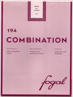 Fogal Combination packaging