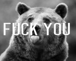 Fuck you | via Tumblr en @weheartit.com - http://whrt.it/14bwiNw