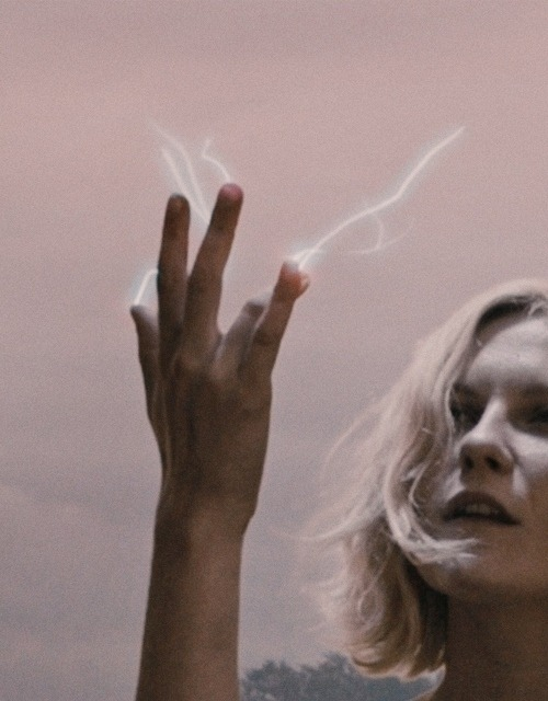 "irredescent:  ""Life is only on earth and not for long."" - Melancholia, 2011"