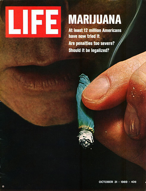 life:  LIFE's 1969 perspective on pot smoking in the U.S