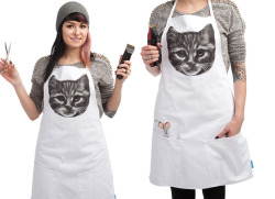Protect your fave Threadless tee from grilling, cooking, and baking messes.My design is now available on apronBUY NOW! at Threadlesshttp://bit.ly/13CM6Tf