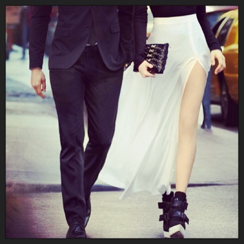 Couple Style. #fashion #style #stylish #couple #blackandwhite #chic #dapper