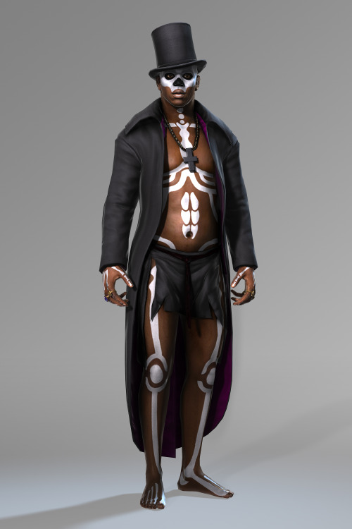 shabazzpizazz:   Baron Samedi (Baron Saturday, also known as Baron Samdi, Bawon Samedi, or Bawon Sanmdi)