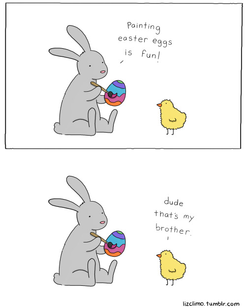 lizclimo:  happy easter