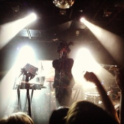 IAMX in Austin, Texas. 5/6/13. Transcendent and unforgettable. @iamx #iamx (at The Parish)