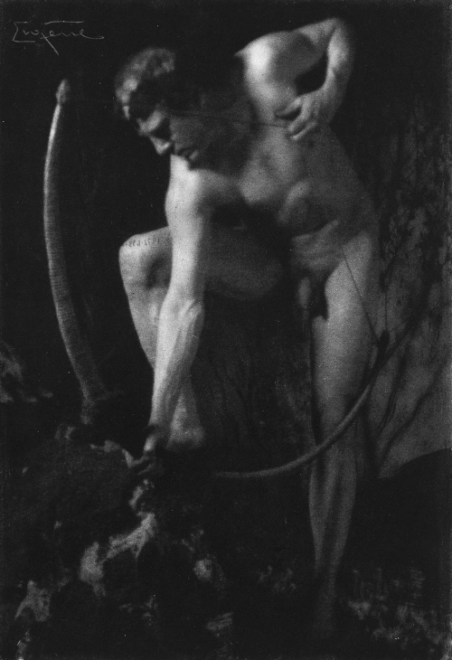 onlyoldphotography:  Frank Eugene: The Archer, 1900s