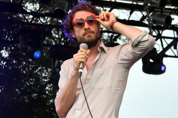 Get over the hump with Father John Misty, aka former Fleet Foxes drummer J. Tillman….can't wait to see him at Coachella.
