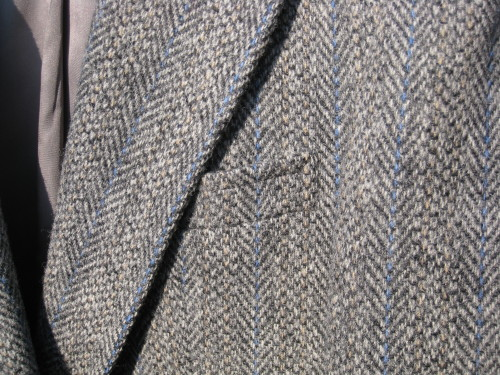 Vintage Harris Tweed Blazer Mens Medium 40 Long