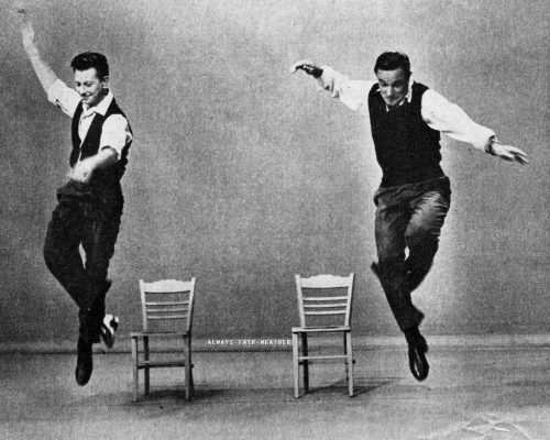always-fair-weather:  Donald O'Connor and Gene Kelly