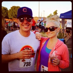 @hardywood 4 miler with @shellydaidone #rva #beer #runningisbetterwithbeer  (at Hardywood Park Craft Brewery)