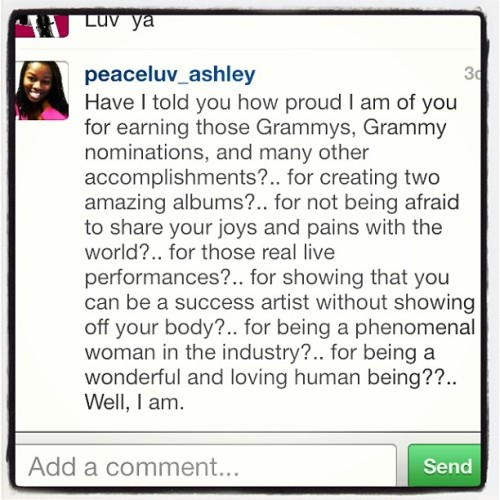 #Instalove. @peaceluv_ashley. Xo