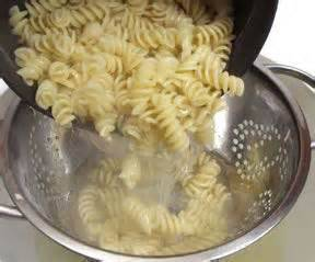 Cooking Tip: Perfect Pasta PrepGo ahead and add your dry pasta to the pot of water while waiting for it to boil.  It will cut cooking time in half!