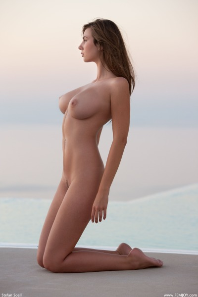 jmonstergirls:  Josephine - Nude at the Beach