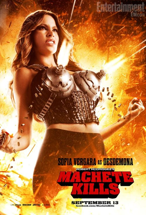 fuckyeahmovieposters:   Machete Kills  Sublime!