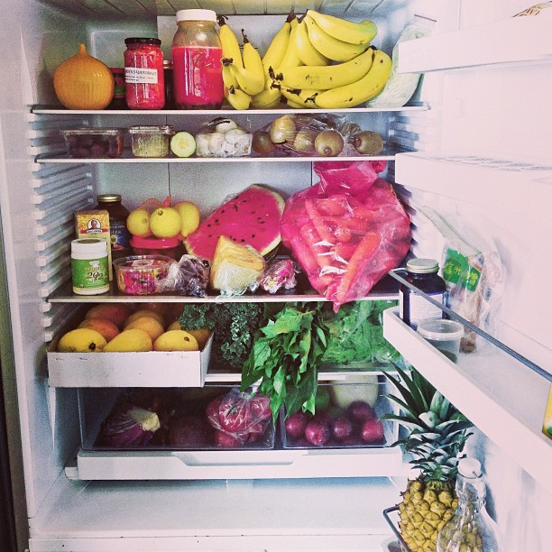 gettingahealthybody:  This fridge is mighty fine.
