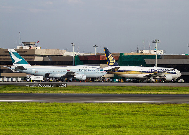 Singapore Airlines and Cathay Pacific Sending Newer Aircraft to Manila