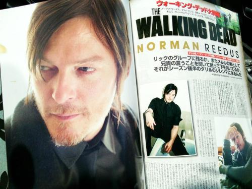 ennoia3:   Norman Reedus in MOVIE STAR magazine (Vol. 183) (Scans from @juri35 via @StalkingReedus)