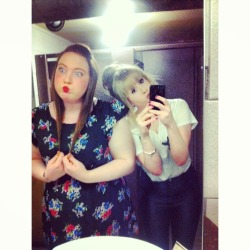 danisalwaysinjured:  Me and my bestfriend are attractive when we're drunk :D