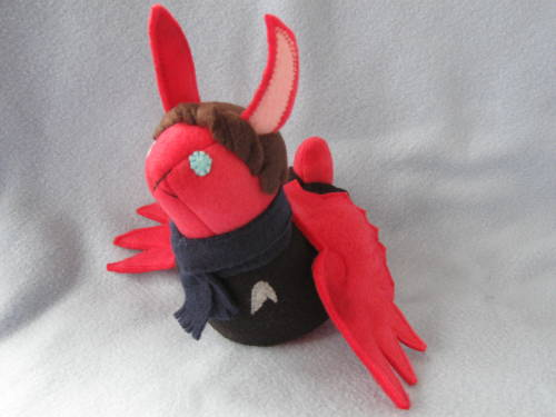 stitchnik:  Uhm, so,  TrekSmaugLock bunny, an ultimate Cumbertrifecta? made by The Stitchy Button