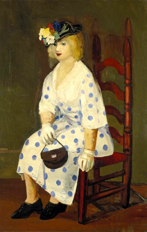 bofransson:  George Luks - 1927 The Polka Dot Dress