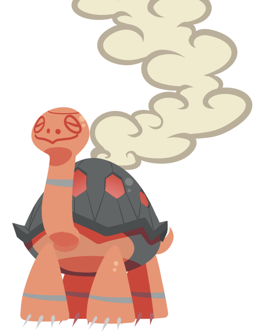Day 10: Favorite fire type - Torkoal Something quick and silly.