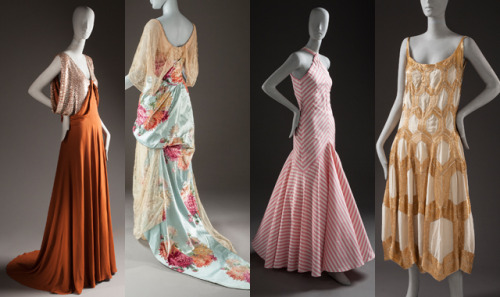 lacma:  The Costume and Textiles collection at the Los Angeles County Museum of Art is becoming a bona fide sartorial attraction,thanks to the recent acquisition of 158 pieces by couture designers dating from 1880 to 2008. Made possible by patron Ellen A. Michelson, the collection boasts creations by nearly 50 designers, including Cristóbal Balenciaga, Jean Dessès, Christian Dior, Hubert de Givenchy, Christian Lacroix, Jeanne Lanvin, Yves Saint Laurent, Alexander McQueen, Jean Patou, Paul Poiret, and Paco Rabanne. The collection also has a large number of pieces by three of fashion's most-recognized female designers — Coco Chanel, Madame Grès, and Madeleine Vionnet. LACMA Acquires Couture Collection With Pieces by Balenciaga, Madame Grès, and More | Silhouettes | ARTINFO.com