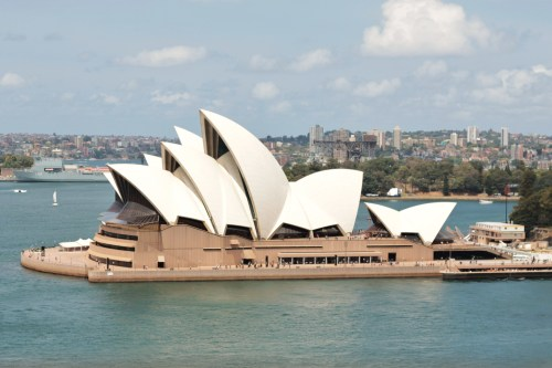 Visit Australia Number 3 on the Bucket List Sydney Opera House, Sydney, Australia One of my favourite shots (of many) of the Opera House, as viewed from the Harbour Bridge…