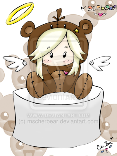 Audi: Mini Chibi MeepBear -color- by *mscherbear