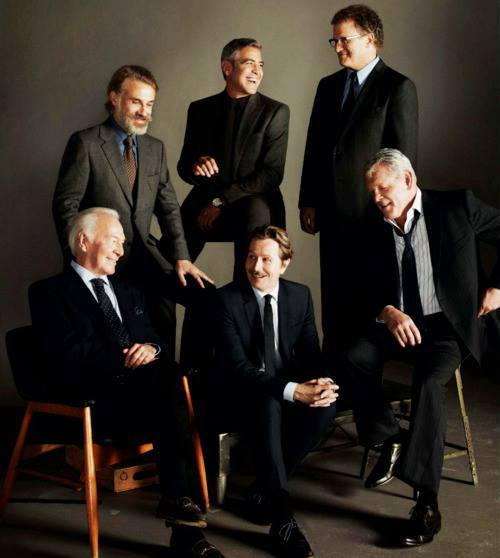 true-cinema:  Christoph Waltz, George Clooney, Albert Brooks, Christopher Plummer, Gary Oldman and Nick Nolte