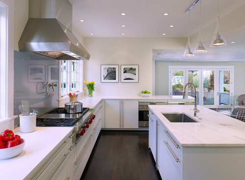 georgianadesign:  Russell Road kitchen, DC (metro). Thorsen Construction.