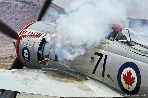 operationchastise:  Sawbones engine start  Always reblog Sea Fury