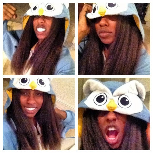 Blue Owl Onsie. #SaturdayNight #ImAboutTHATLife #Sober #Silly #BigKid #NoFilter