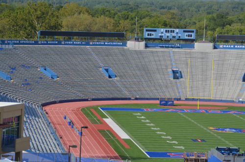 University of Kansas Memorial Stadium (by jeffreywhittle)