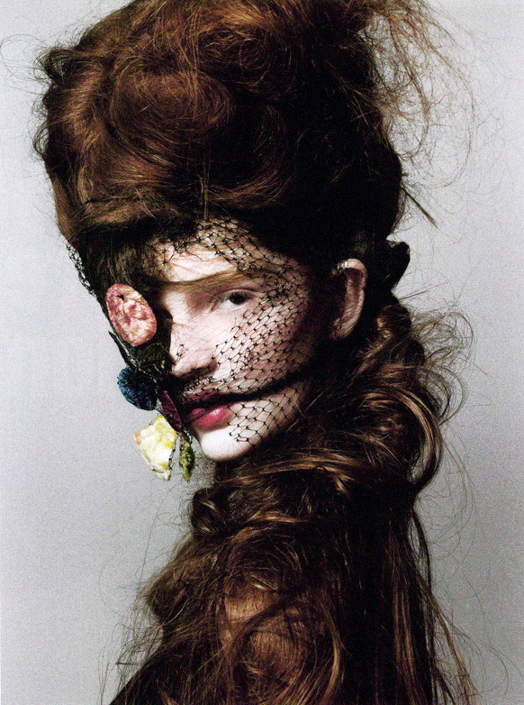 honestly-wtf:  Camille Mervin Leroy by Robert Erdmann for Crash Fall 2008