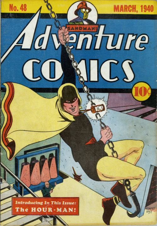 comicbookcovers:  Adventure Comics #48, March 1940, cover by Bernard Bailey